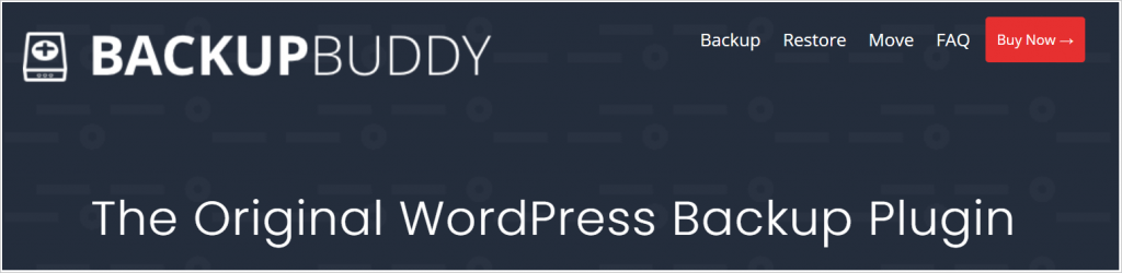 WordPress backup plugin Backup Buddy