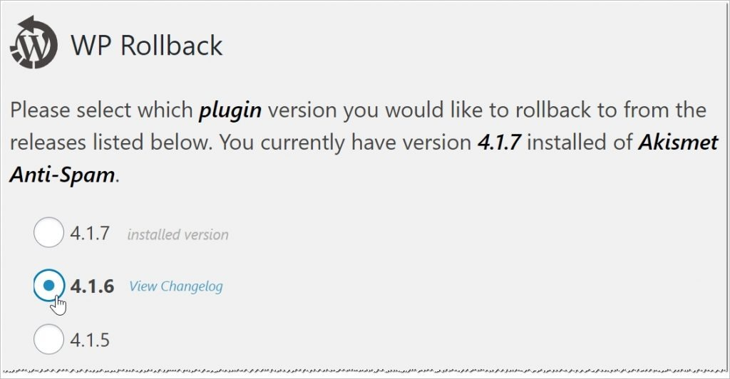WordPress plugin version control