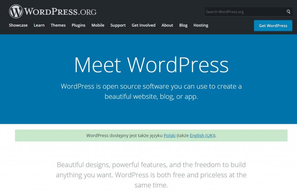About WordPress