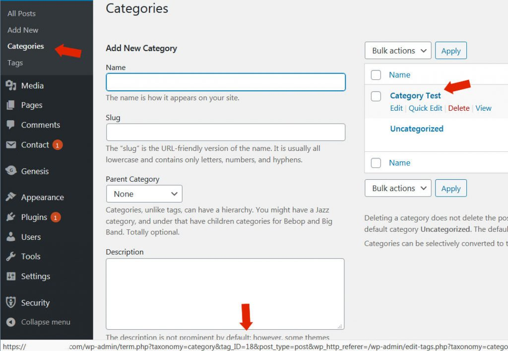 RSS  Feed Categories