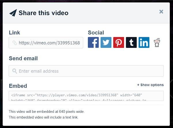 Embed Vimeo in WordPress Step 4
