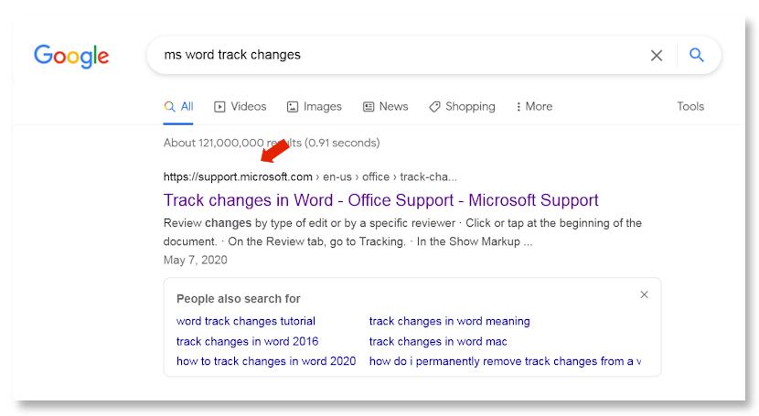 Google MS Word Wiki