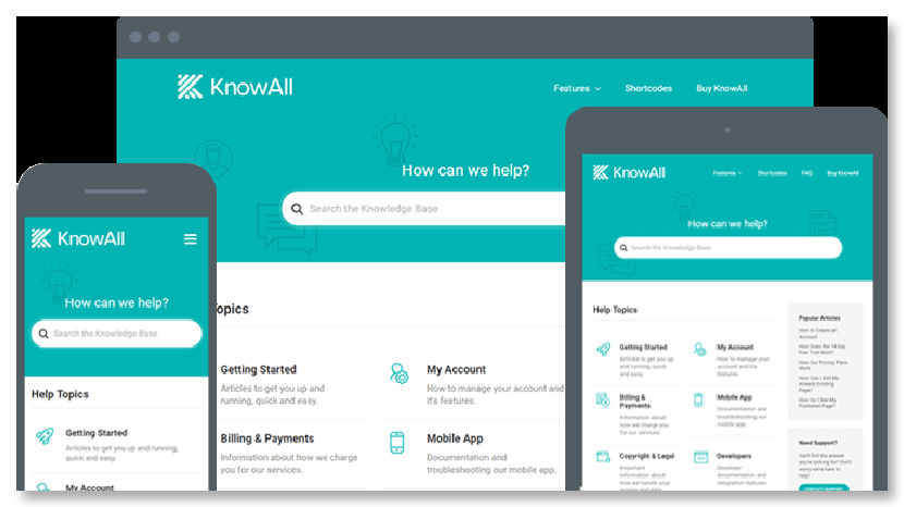 KnowAll WordPress Wiki Theme