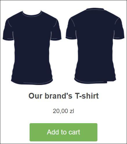 Shopify WordPress Integration - the final result